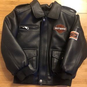 Harley Davidson Kids Leather Jacket